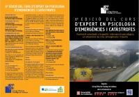 VI EDICIO CURS D'EXPERT EN PSICOLOGIA D'EMERGENCIES I CATÀSTROFES