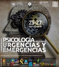 Congreso Nacional PSICOLOGIA URGENCIAS Y EMERGENCIAS