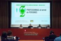 Professionals al servei de persones. Blanquerna 2014
